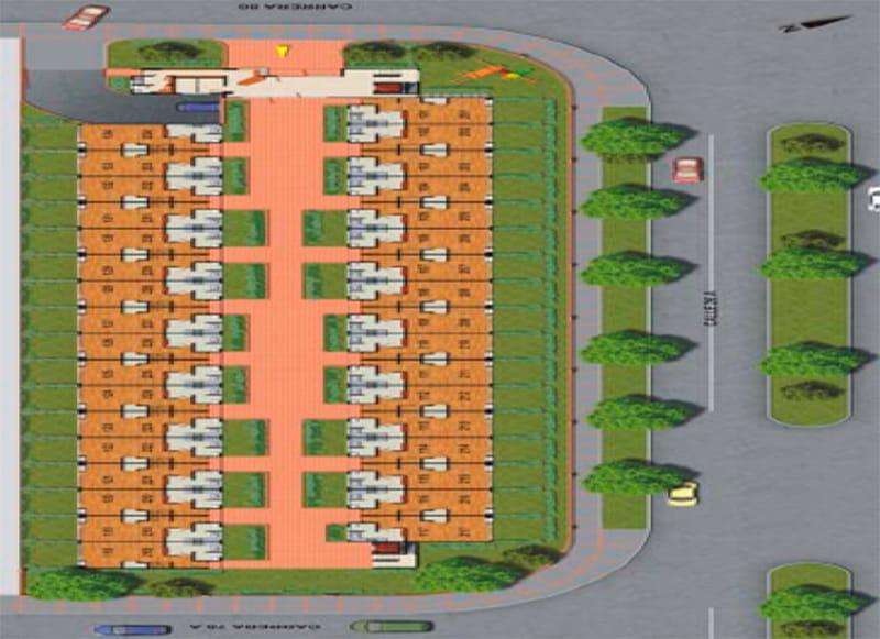 Lantana Reservado apartamentos bogota plano