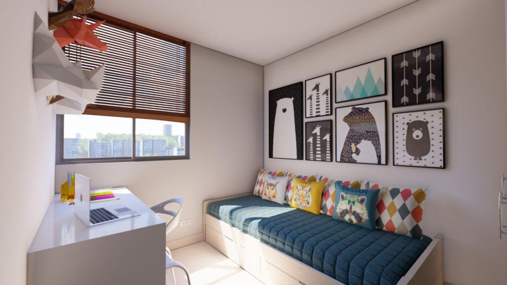 Apartamentos en Pereira - habitacion secundaria inga