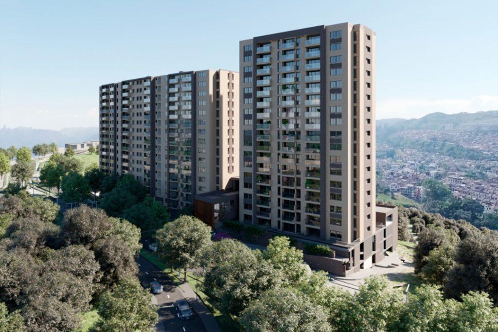 Apartamentos en Pereira - Fachada Palma
