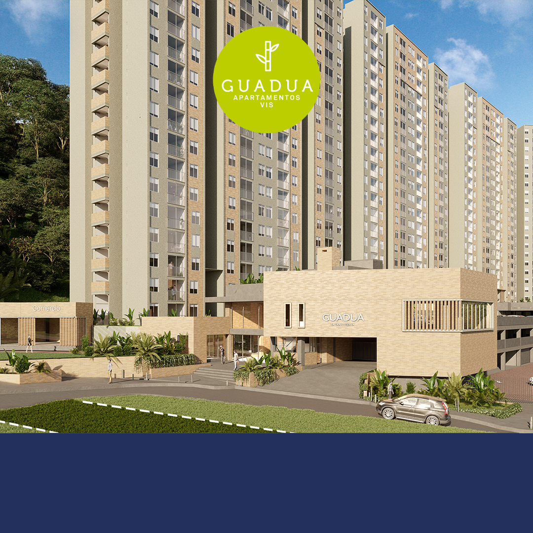 Portada apartamentos Pereira - Guadua