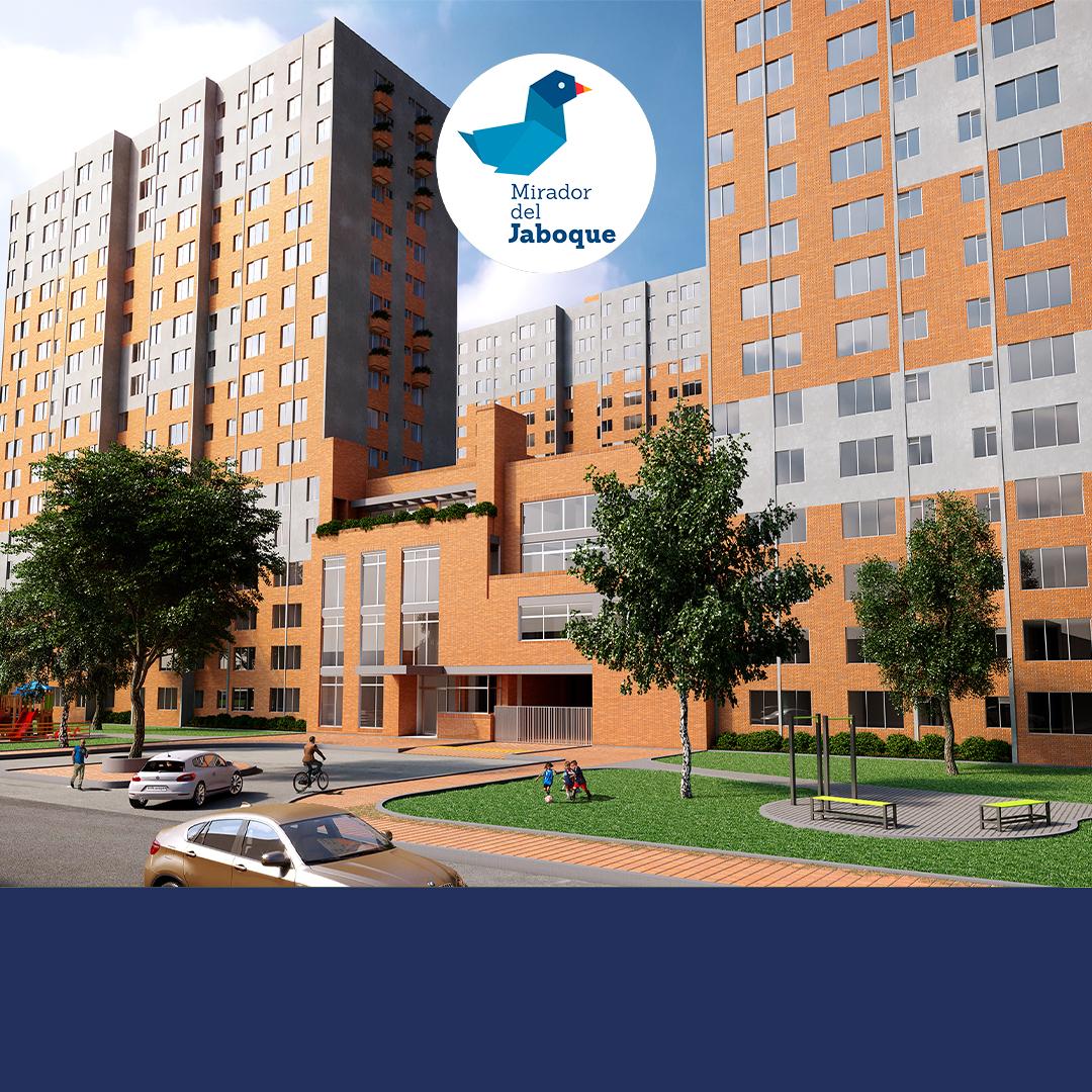 Portada apartamentos Engativa - Mirador del Jaboque